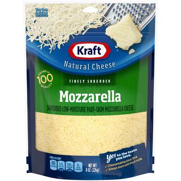 Kraft Mozzarella Finely Shredded Natural Cheese