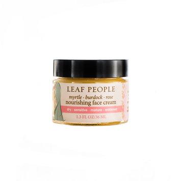 Leaf People Myrtle Burdock Rose Nourishing Face Cream1.3 oz.
