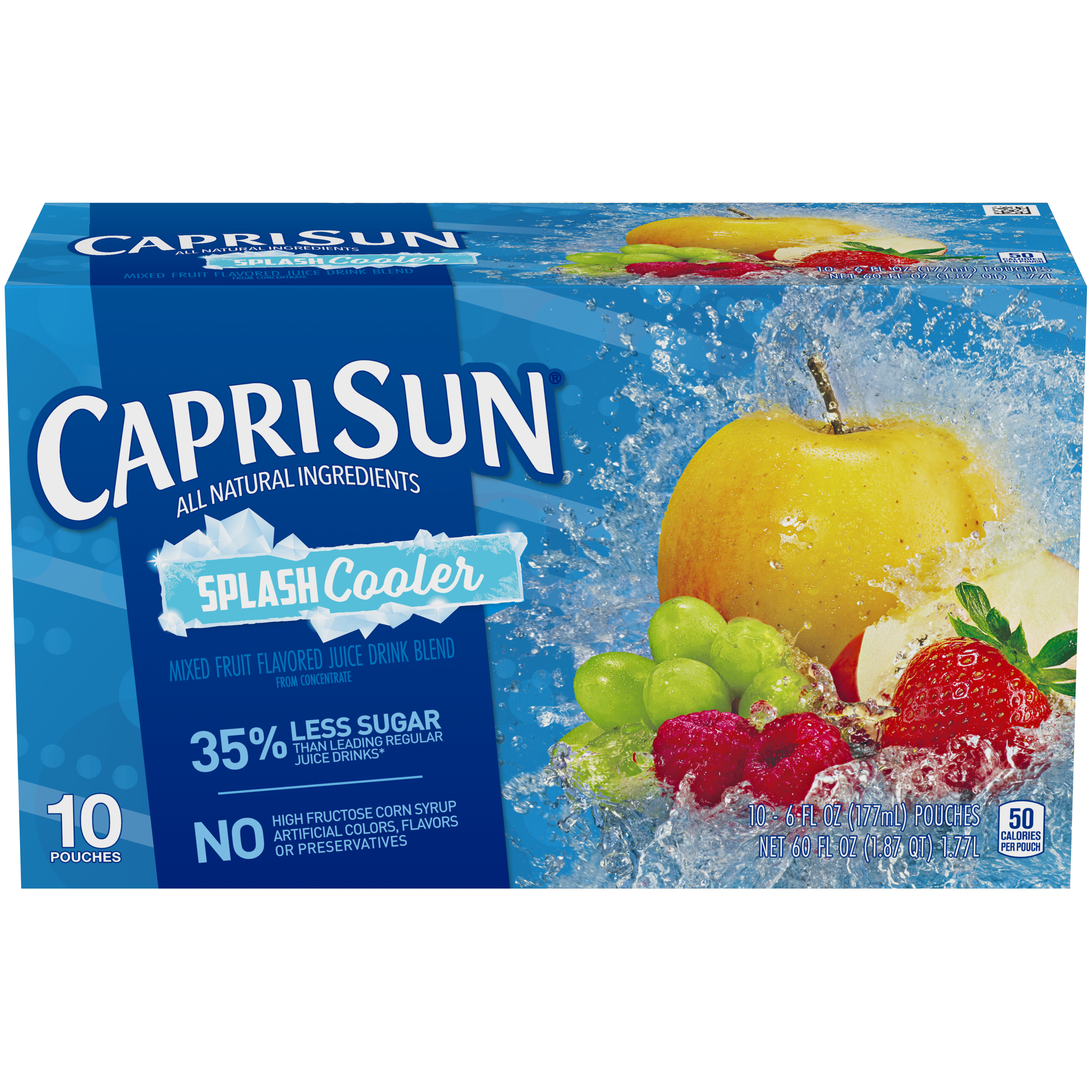 Capri Sun Splash Cooler Ready-to-Drink Soft Drink