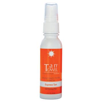 Tantowel EXPRESS TAN (Self Tanning Mist) 2 fl. oz. - Tan Towel - Brand New!
