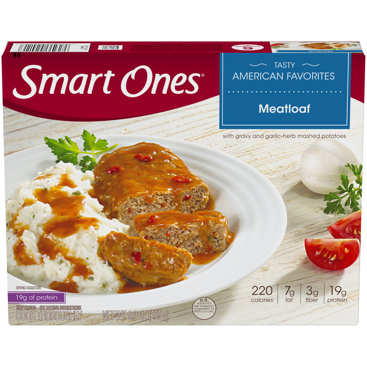 Smart Ones Tasty American Favorites Meatloaf