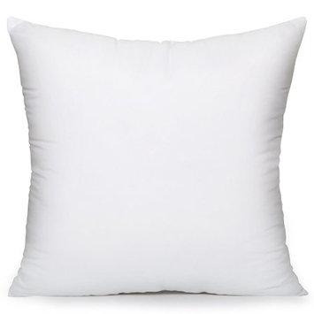 Acanva Hypoallergenic Pillow Insert Sham Cushion Form, Square, 28