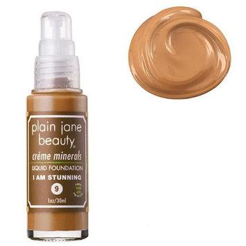 Plain Jane Beauty 232013 I Am Stunning 9 Creme Minerals Liquid Foundation