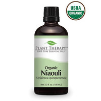 Organic Niaouli Essentail Oil. 100 ml (3.3 oz). 100% Pure, Undiluted, Therapeutic Grade.