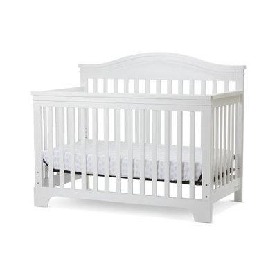 Amwan Solano Beach 4 in I Convertible Crib in White