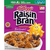 Kellogg's Raisin Bran, (2 pk./76.5 oz.) x2 AS