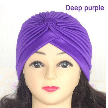 DZT1968 Solid Multifunctional Turban Ear Cap Cap Cap Beauty Big Satin Bonnet