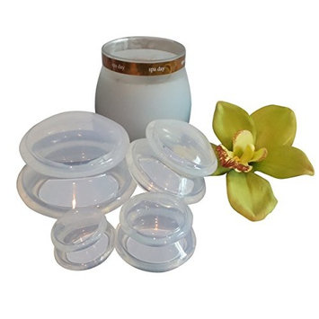 Lure Cupping Therapy Massage Sets - Silicone Vacuum Suction Cupping Cups for Muscle and Joint Pain Cellulite & More