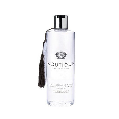 Boutique White Nectarine and Pear Bath and Shower Gel 500ml