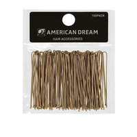 American Dream Straight Hair Pins, Blonde 2.5-Inch/ 6.35 Cm - Pack Of 100