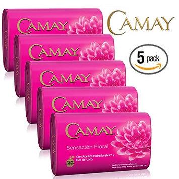 Camay Sensación Floral Bar Soap: 5 Bars x 150g
