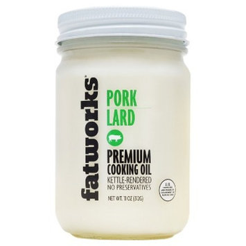 Fatworks® Pork Lard Premium Cooking Oil 11 oz