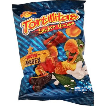 Senorial Corn Chips 0.42 oz (Dozen) - Tortillita Senorial (Pack of 3)