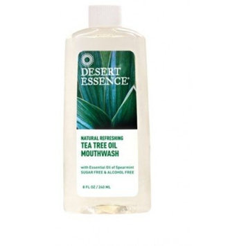 Natural Refreshing Tea Tree Oil Mouthwash - 8fl oz