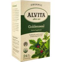 Alvita Organic Goldenseal Herbal Supplement Tea, 24 count, 0.65 oz