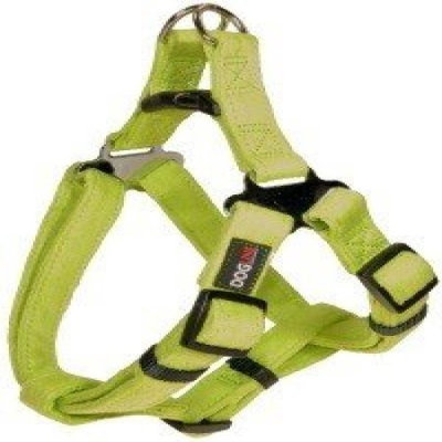 Dogline M8103-5 19-25 L x 0. 34 W inch Comfort Microfiber Step-In Harness, Green