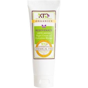 Kelly Teegarden Organics Rejuvenate Hydration Masque and Night Cream, 4 OZ