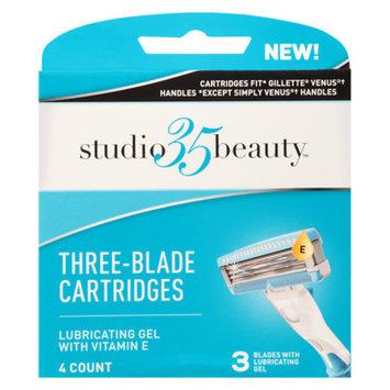 Studio 35 Women Fit 3-Blade Cartridges 4.0 ea(pack of 3)