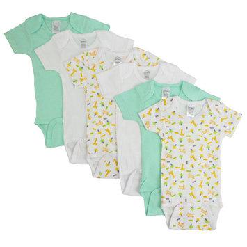 Boys' Printed Short Sleeve 6 Pack
