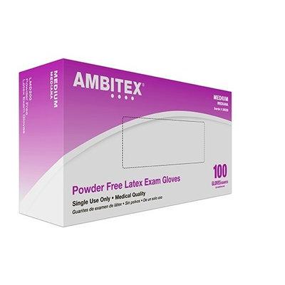 Tradex Ambitex® Small Latex Powder Free Exam Gloves Cream, Textured, 5 Mil   1000/Case   PJP Marketplace