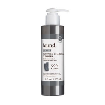 FOUND PORE CARE Activated Charcoal Cleanser, 6 fl oz