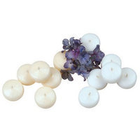 Weddingstar 4019-08 Micro Size Round Candles- White