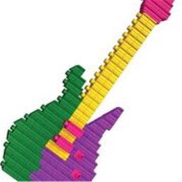 SNAPO 16A300PK 300 Piece Building Blocks Music Jam Pastel Colors