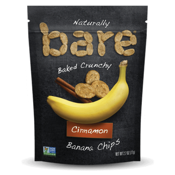 Bare Crunchy Banana Chips Cinnamon 2.8 oz