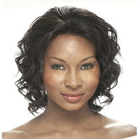IT'S A WIG Human Lace Front Wig SABINA - Color#1 - Jet Black