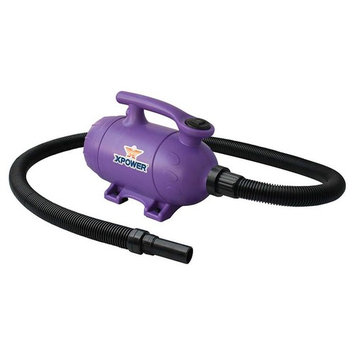 Pro-at-Home Dog Grooming Pet Force Dryer and Vacuum in Purple