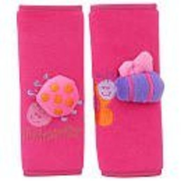 Especially for Baby Plush Strap Covers - Pink