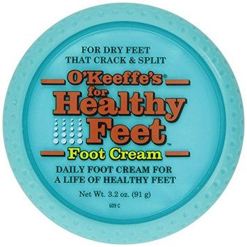 O'Keeffe's for Healthy Feet Foot Cream, 3.2 oz, Jar, (Pack of 4)