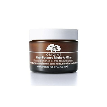 Origins High Potency Night-A-Mins Mineral-Enriched Oil-Free Renewal Cream 50ml (Pack of 6)