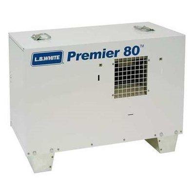 Lb White L.B. White Ductable Tent Portable Gas Heater (LP, 80000 BtuH). Model: TS080ASPN220097