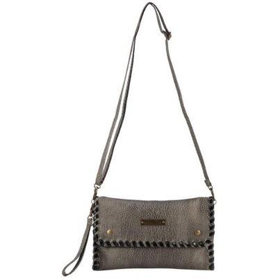 Fauxsol Sew Chic Cross Body Bag/Worn as Clutch, Chocolate