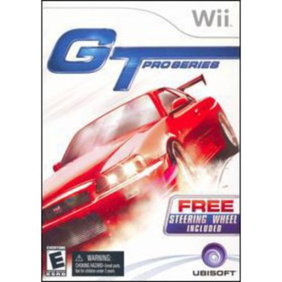GT Pro Series with wheel (Wii)