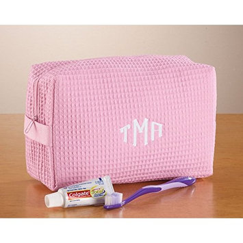 Personalized Waffle Cosmetic Bag