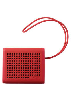 Nixon Mini Blaster Wireless Speaker Red, One Size