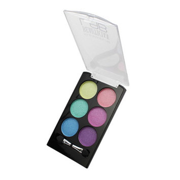 (3 Pack) KLEANCOLOR Beautician Lab Shimmer Shadow Pallete Cutting Edge