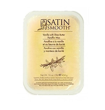 Satin Smooth Paraffin Wax Vanilla with Shea Butter