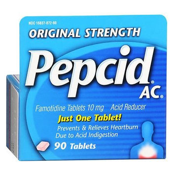 Pepcid AC Acid Reducer Tablets Original Strength 90.0 ea(pack of 2)
