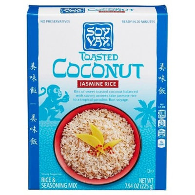 Soy Vay® Rice & Seasoning Mix Toasted Coconut 7.94 oz