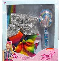 JoJo Siwa Hair Brush and Bows Accessory Set (Dream Crazy Big)
