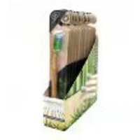 WooBamboo Toothbrush Standard Handle Soft 12-pack