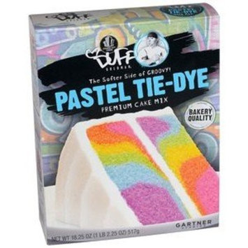 Duff Decorating Cake Mix Pastel Tie Dye