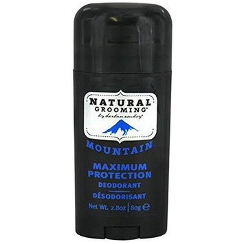 Herban Cowboy Mountain Maximum Protection Natural Deodorant - 2.8 Ounce, 3 Pack by Herban Cowboy