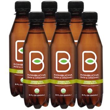 Kombucha Clarity Lemon Balm Green Tea