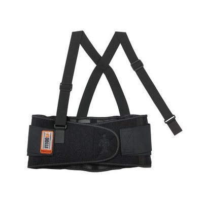 Proflex Back Support (Black, XS). Model: 1100SF