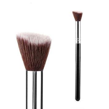 1 Pcs Makeup Brush Set Powder Cosmetic Make Up Tools Foundation Natural Beauty Palettes Eyeshadow Vanity Dainty Popular Eyes Face Colorful Rainbow Hair Highlights Glitter Girls Travel Kit