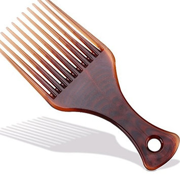 Cyber Monday Sale GreatFun Long Tooth Styling Pick, Afro Comb Curly Hair Brush Salon Hairdressing Styling Barber Tool
